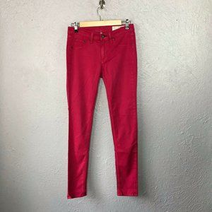 rag & bone / Jeans Fuschia Pink Stretch Denim 27